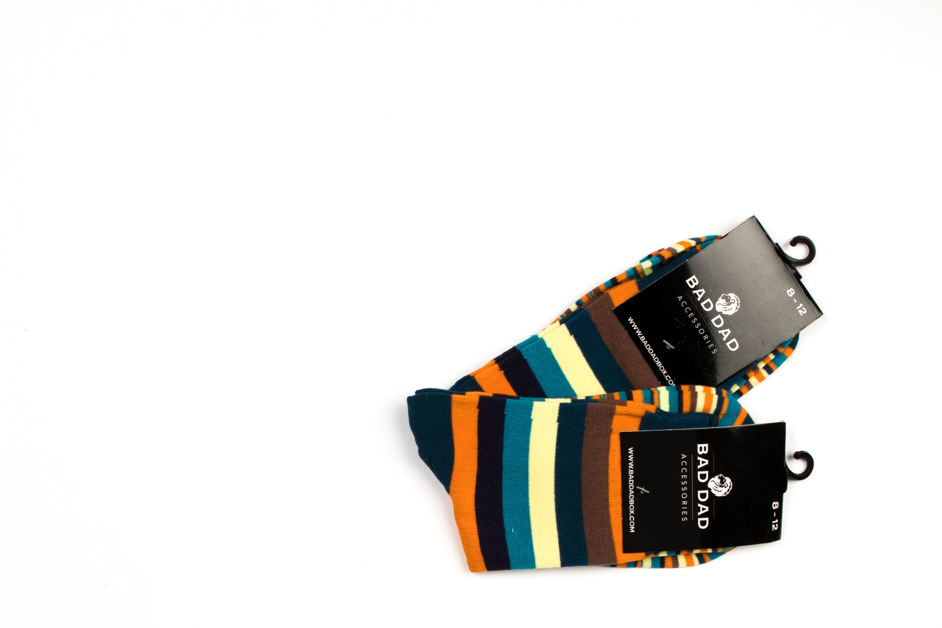 Socks - Striped Orange Yellow