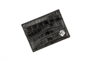 Genuine Black Leather Cardholder