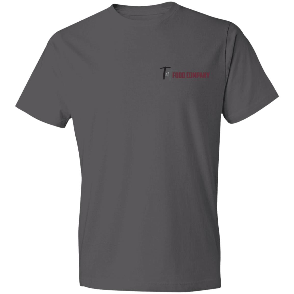 TNT LOGO - GREY - WIDE 980 Anvil Lightweight T-Shirt 4.5 oz