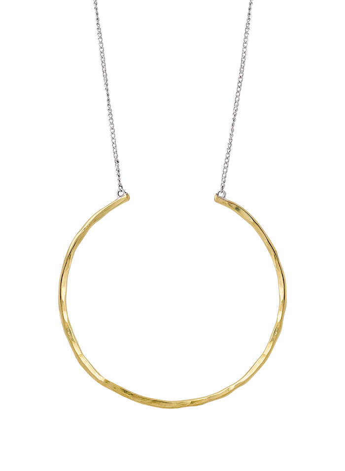 Hold Space Circle Necklace