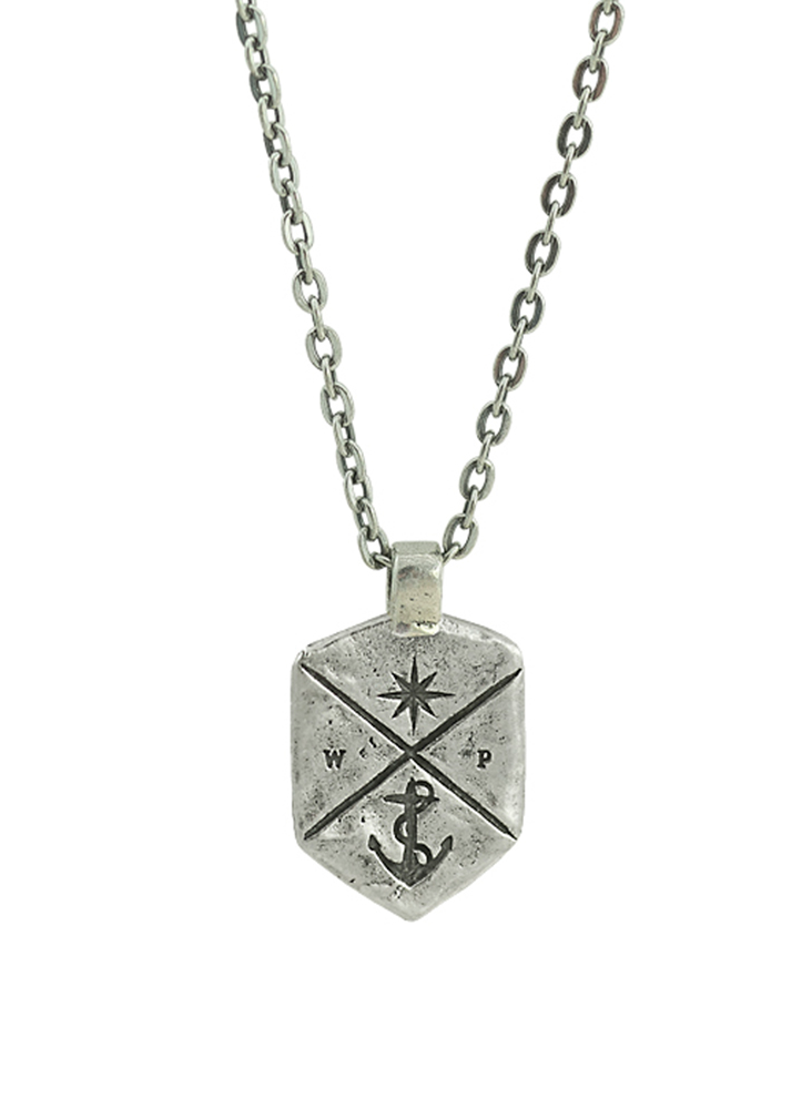 Coat of Arms Necklace - Sterling Silver
