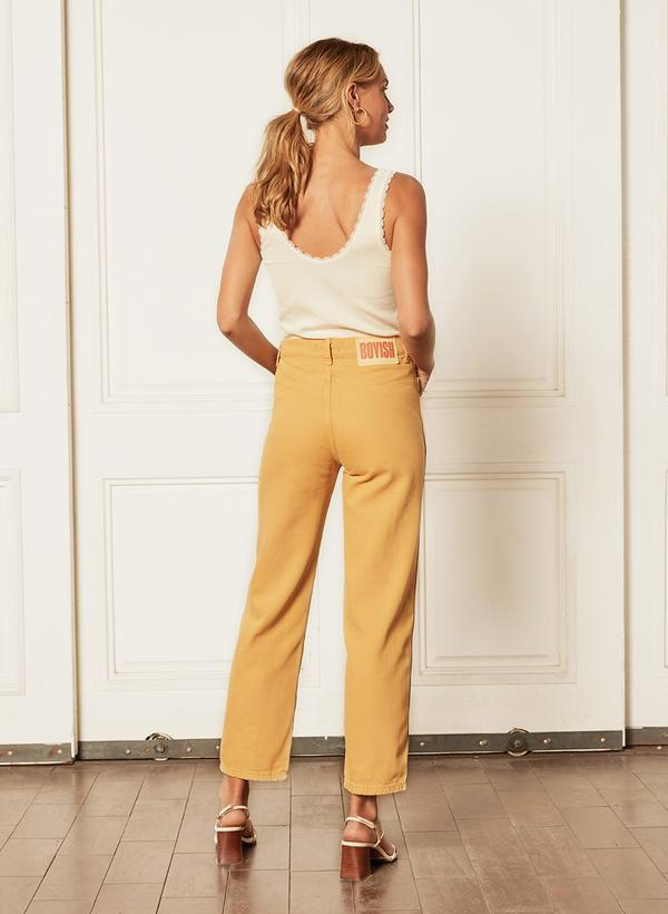 The Timmy Retro Back Yoke Straight - Gold Rush