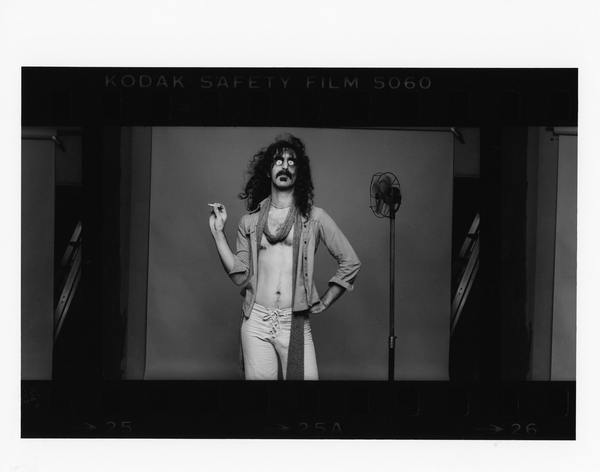 Frank Zappa by Norman Seeff Print