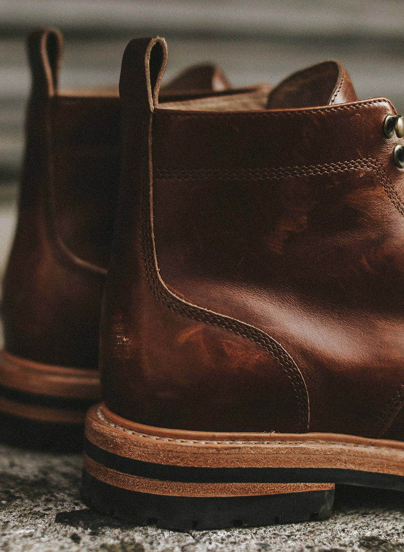 The Trench Boot - Whiskey