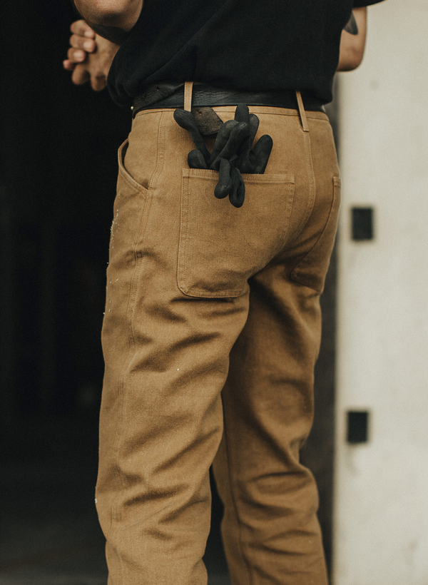 The Camp Pant - British Khaki Boss Duck