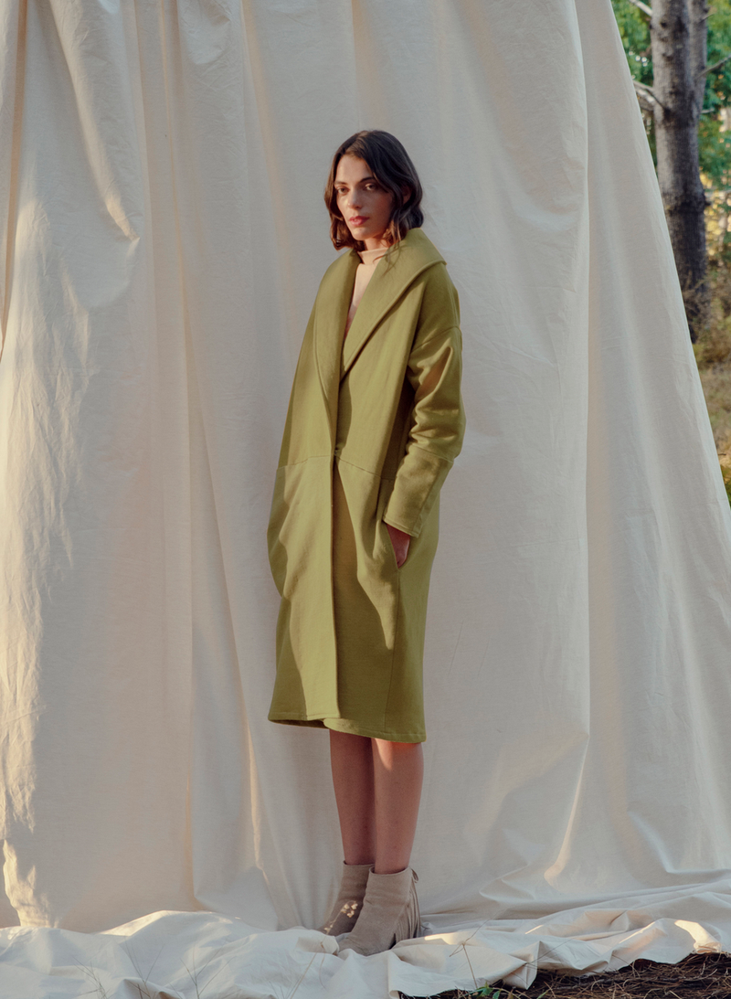 Molle Coat - Sage Green