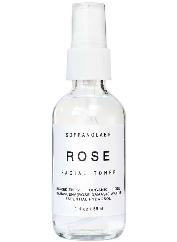Rose Hydrating Mist. Organic Face Toner