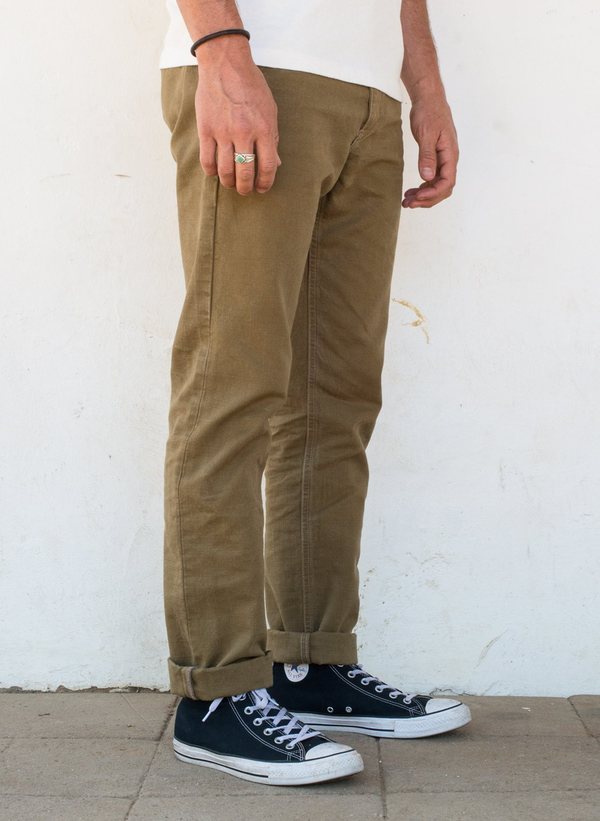 Workers Chino Slim Straight - 14oz Tan