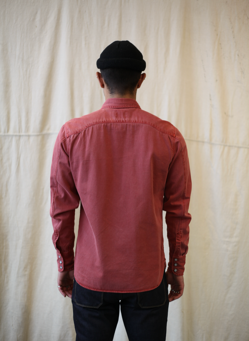 Calico Shirt - Rust