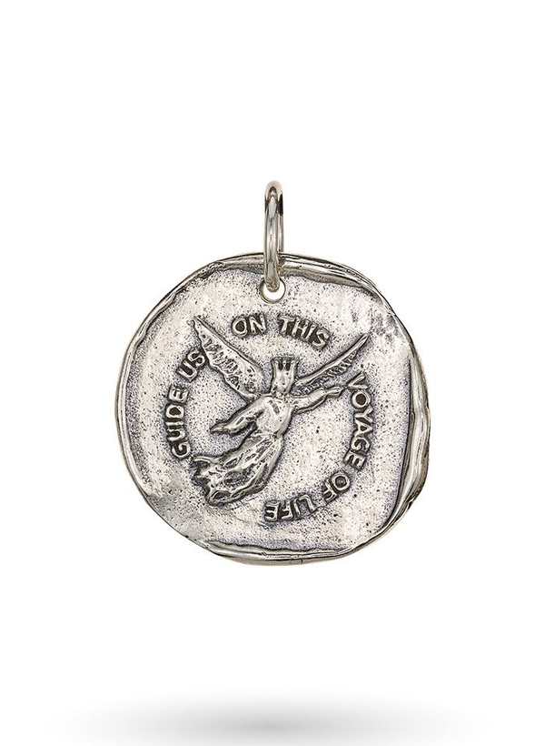 Voyage of Life Angel Pendant - Sterling Silver