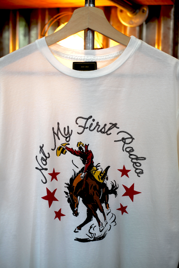 Not My First Rodeo Tee - Antique White