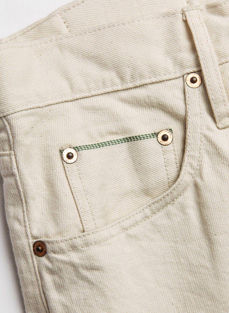 The Democratic Jean - Natural Organic Selvage