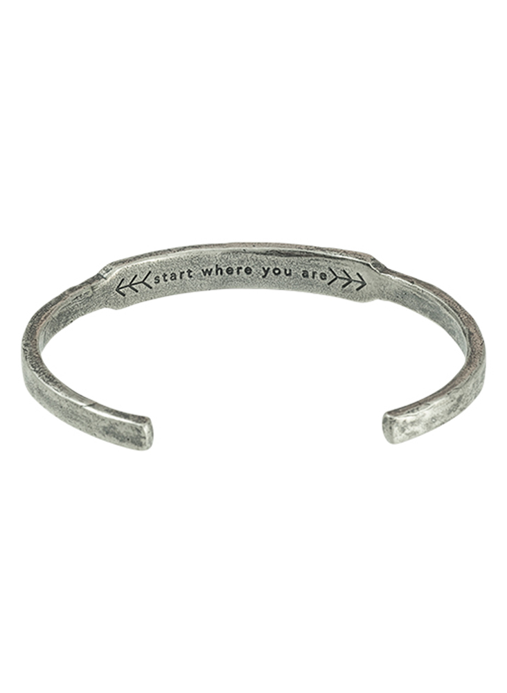 Genesis Cuff - Sterling Silver - Large