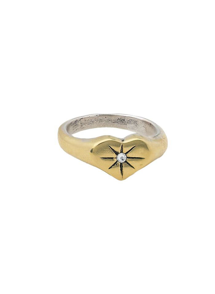 Guided by Heart Compass Ring