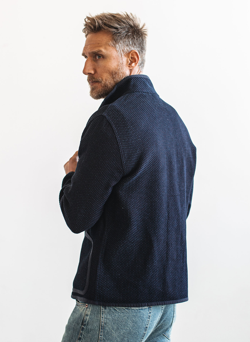 The Port Jacket - Indigo Sashiko
