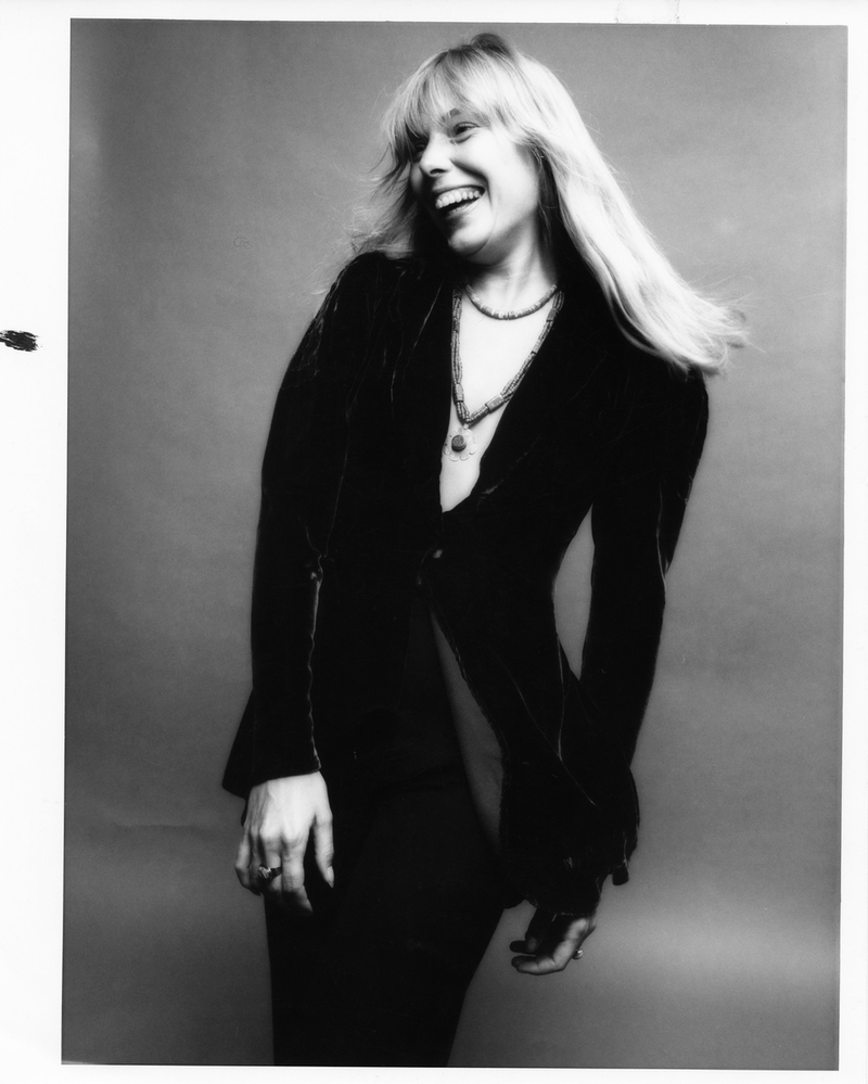 Joni Mitchell by Norman Seeff Print