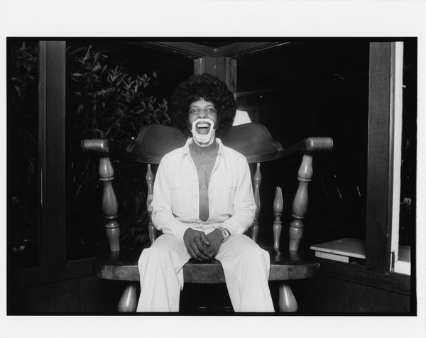Sly Stone  by Norman Seeff Print