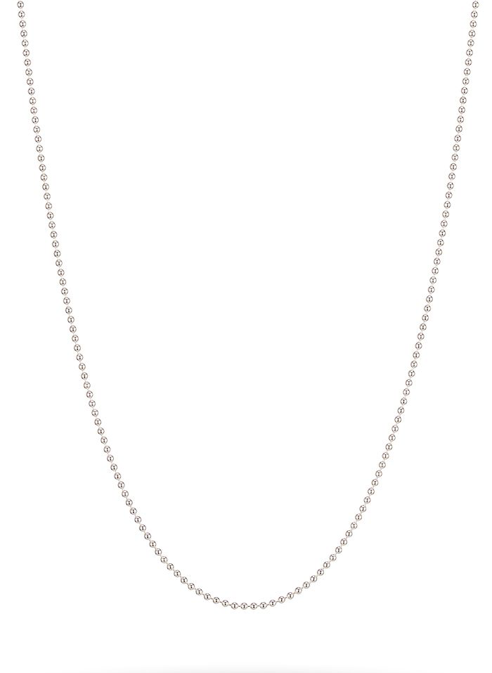 "20"" Sterling Silver Baby Ball Chain"