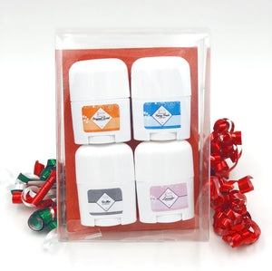 Holiday Deodorant Sample Pack
