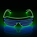 Eleutheromania Glow Glasses