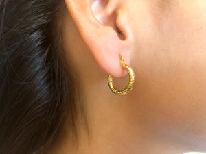 Alondra Small Gold Hoops