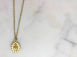 Saint (Saint Necklace - Gold Choker)