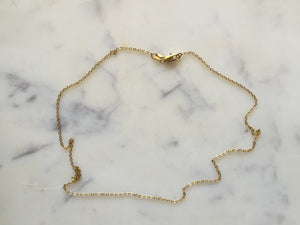 Yuliu (Thin-Gold Necklace)