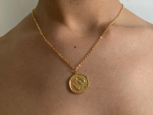pisces, pisces necklace, gold necklace, goldchoker, goldchain, astrology jewelry, zodiac jewelry