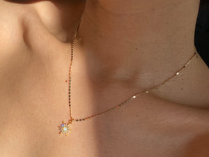 Asteri - Opal Star Necklace