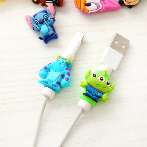 8 Cable Pin Rubber Protector for USB Charger Cord - Kawaii Treats