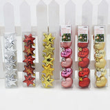 5 PCS/Pack Heart/Stars Christmas Tree Decoration - Kawaii Treats