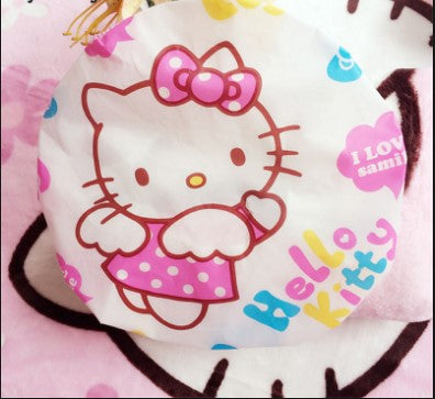 4 PCS Hello Kitty Transparent Shower Cap - Kawaii Treats