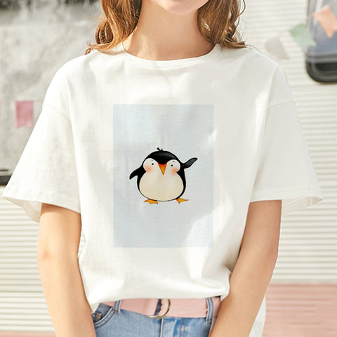 Cool Summer Penguin T shirt <4 designs> - Kawaii Treats