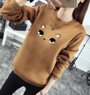 Cat Inspired Thick Pullover <17 colors> - Kawaii Treats