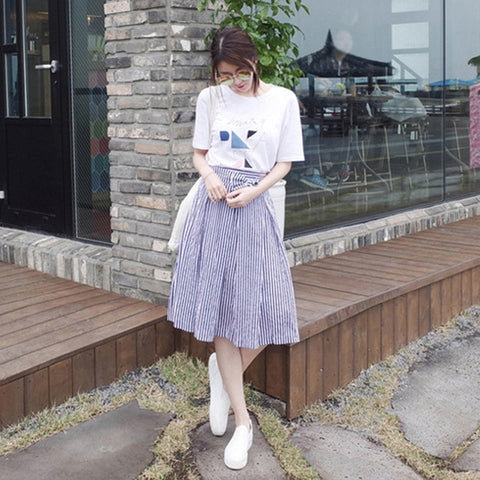 Casual Summer Dress Two-Piece - Kawaii Treats