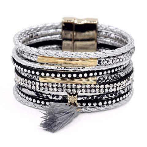 Magnetic Clasp Multi Layer Bracelet - Kawaii Treats