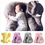 Plush Elephant Comfort Pillow - Kawaii Treats