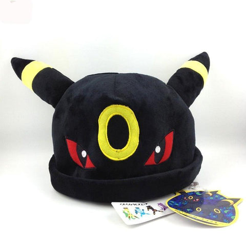 Stuffed Umbreon Hat Plush Toy - Kawaii Treats