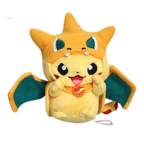 Mini Charizard Hat Stuffed Toy - Kawaii Treats