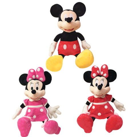 Mickey/Minnie Mouse Plush Doll
