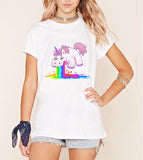 Harajuku Funny Unicorn Streetwear Hipster Women T-Shirt - Kawaii Treats