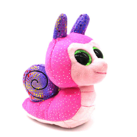 Ty Beanie Boos Original Pink Snail Plush Toy - Kawaii Treats