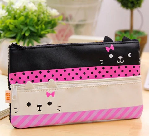 Cute Canvas Pencil Case - Kawaii Treats