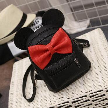 Minnie Leather Petite Backpack - Kawaii Treats