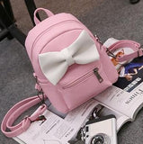 Leather Petite Backpack - Kawaii Treats