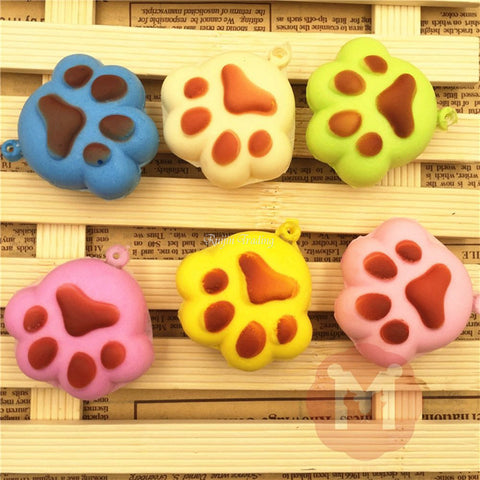 Scented Mini Claw Cat and Dog Footprint Squishy