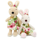 Wearing Dress Le Sucre Rabbit Stuffed Toy