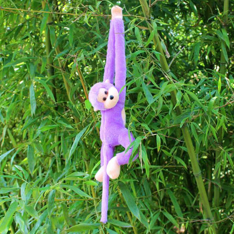 Purple Gibbon Stuffed Toy - Kawaii Treats