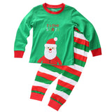 Santa Reindeer Kids Christmas Nightwear Outfits - Kawaii Treats