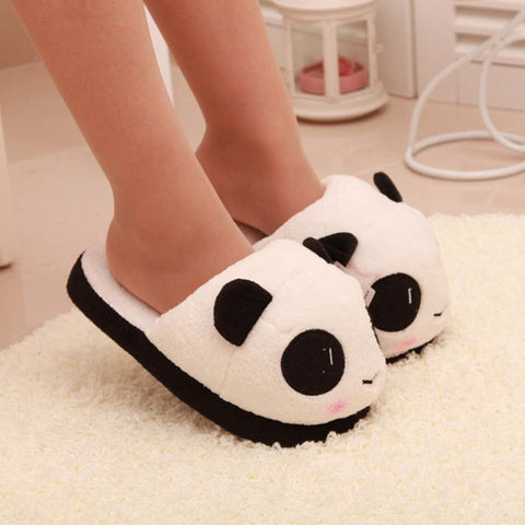 Panda Slippers - Kawaii Treats